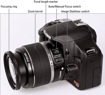 How To Record Video With A Canon Eos Rebel T1i 500d Dummies