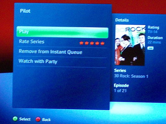 how to watch netflix on xbox 360