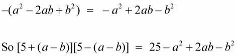 Finding the Sum and Difference of the Same Two Terms - dummies