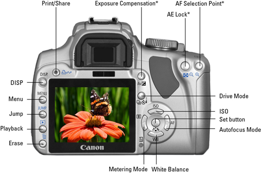 Checking out the Canon XTi/400D from the photographer's perspective.