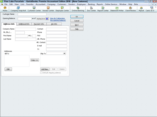 how to add new supplier on quickbooks
