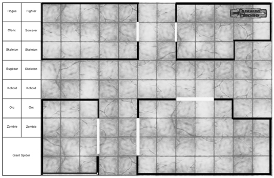 dungeons  u0026 dragons 4th edition battle grids