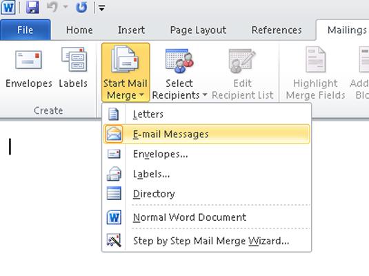 mail merge word excel 2008 mac