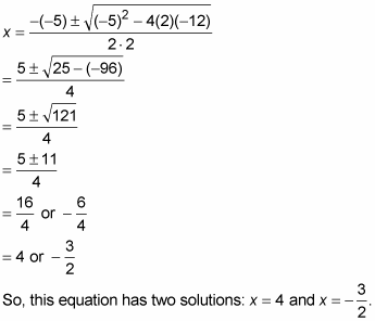 how to solve and factor a quadratic equation with the quadratic
