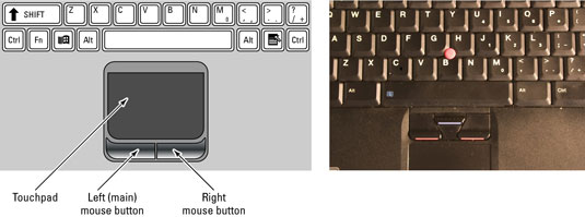 How to Use the Touchpad, Your Laptop's Built-In Mouse - dummies