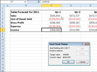 how to use goal seek in excel 2010
