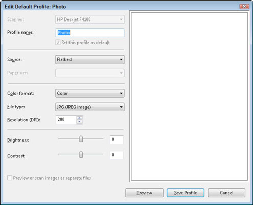How to Change Scanner Settings - dummies