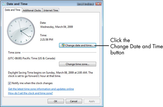 Pc clock going slow while dating