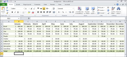 How to Create a Basic Excel Chart - dummies
