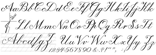 Sample Calligraphy Styles