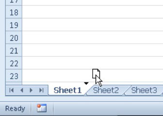 You also can use drag-and-drop to move or copy a worksheet to another workbook.