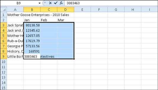 How to Insert Decimal Points Automatically in Excel 2010