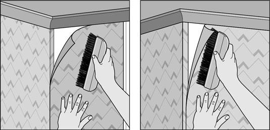 How To Wallpaper Corners Dummies