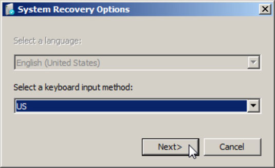 Windows' System Recovery
