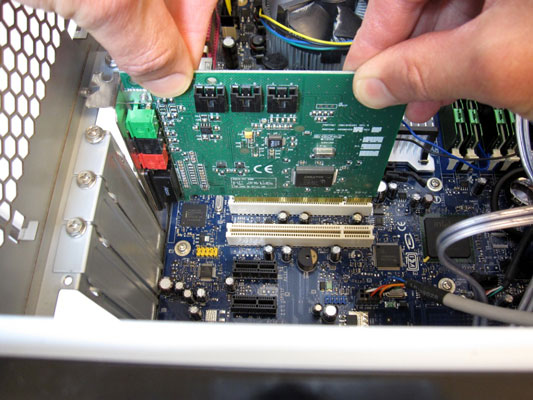 how to replace a sound card