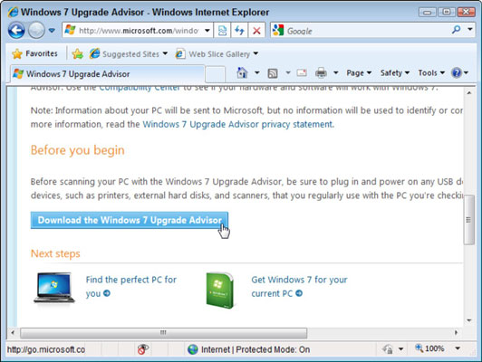 How to Upgrade Your Computer from Windows Vista to Windows 7