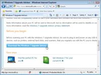 The Windows 7 Upgrade Advisor Web site