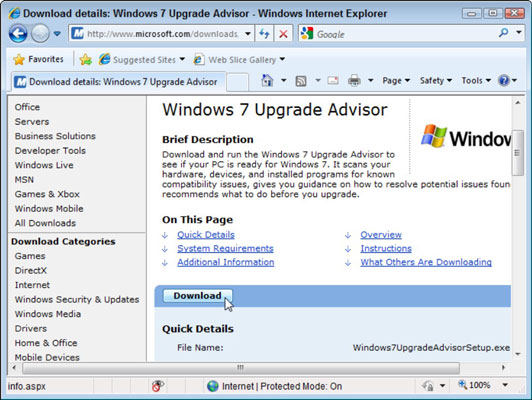 How to Upgrade Your Computer from Windows Vista to Windows 7 - dummies