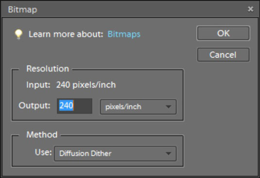 How to Convert Images to Bitmap Mode in Photoshop Elements 9 - dummies