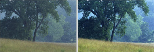 The Auto Contrast command works wonders on hazy images. [Credit: PhotoDisc/Getty Images]