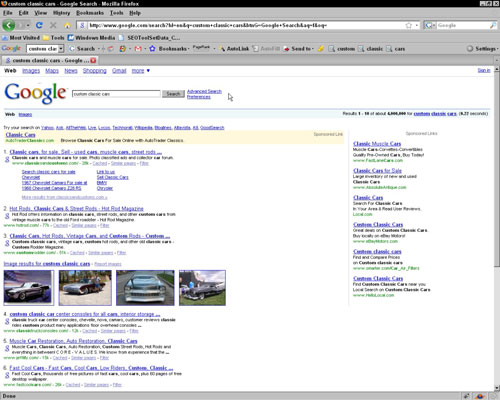 "Keywords in a search engine window: <i/></noscript>custom classic cars.""/> <div class="