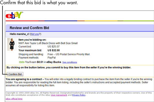 How To Make Your High Bid By Proxy In An Ebay Auction Dummies
