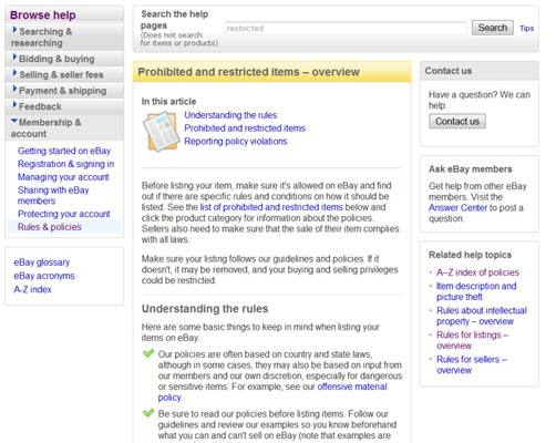 For Seniors What You Can T Sell On Ebay Dummies
