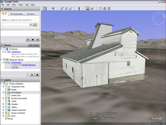 How to View Your Google SketchUp Model in Google Earth - dummies
