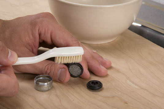 How To Clean A Faucet Aerator And Sink Sprayer Dummies