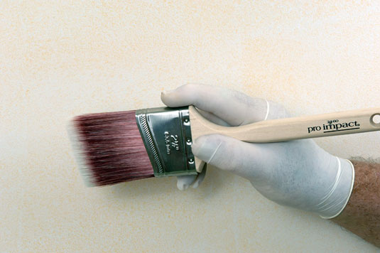 How To Cut In Edges Of A Wall With A Paint Brush Dummies