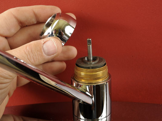 how to fix a leaky faucet rotary ball type dummies. Black Bedroom Furniture Sets. Home Design Ideas