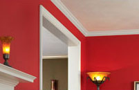 Use white trim throughout your house to tie all the different colors together.