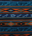 Go for the American Southwest style with Navajo patterns.