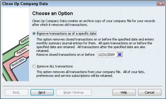 how to clear old uncleared transactions in quickbooks