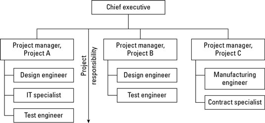 A projectized structure for administering projects.