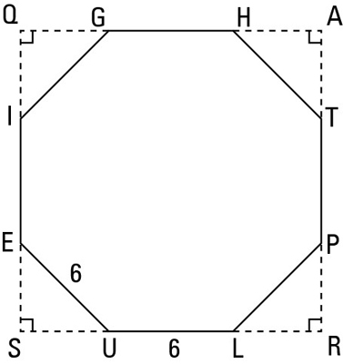 How to Calculate the Area of a Regular Octagon - dummies