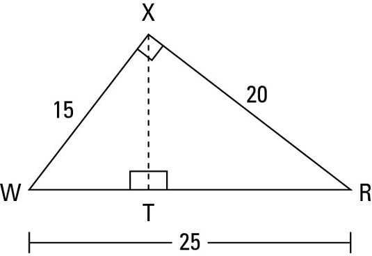 Determining A Triangles Area From Its Base And Height Dummies