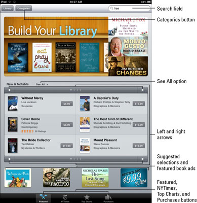 How to Find and Buy eBooks for Your iPad - dummies