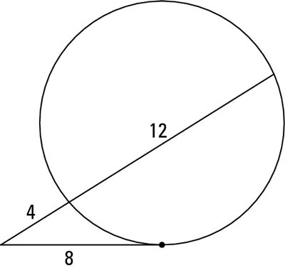 How to Use the Tangent-Secant Power Theorem - dummies