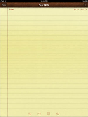 how to write notes on ipad What can you do with the ipad notes app well, after you've created notes, you are likely to want to find one to open again the notes app gives you all sorts of options for moving among.