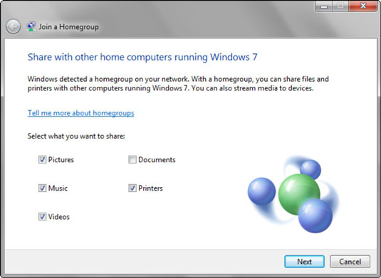 how to join a homegroup on a windows 7 home network dummies