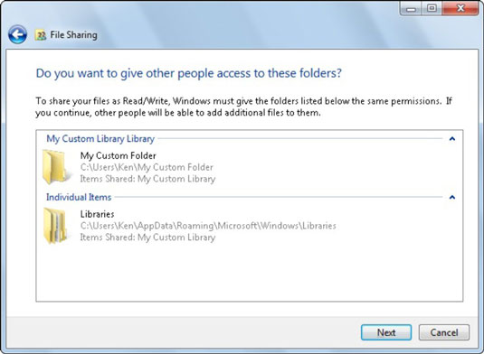 How to Share Folders and Files in a Windows 7 Network