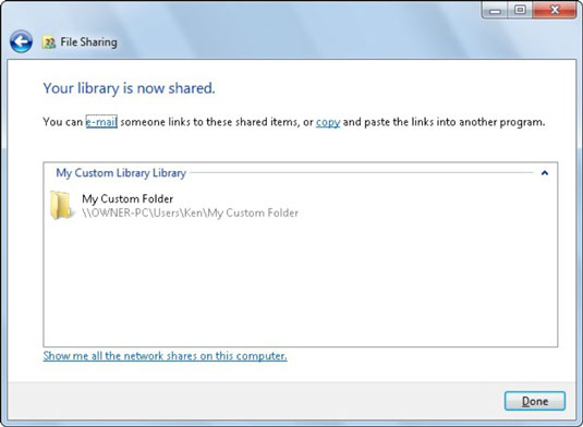 How to Share Folders and Files in a Windows 7 Network HomeGroup