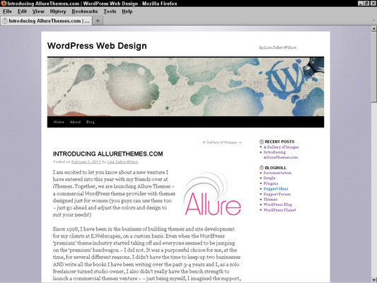 Adding a Blog to Your Website - dummies