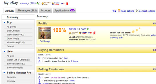 How To Keep Track Of Your Ebay Bids Dummies