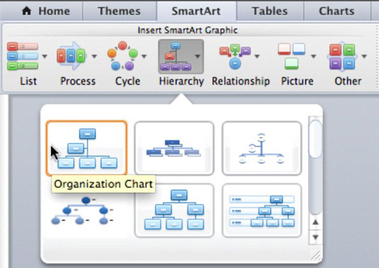 How To Make Smartart Charts In Office 2011 For Mac Dummies