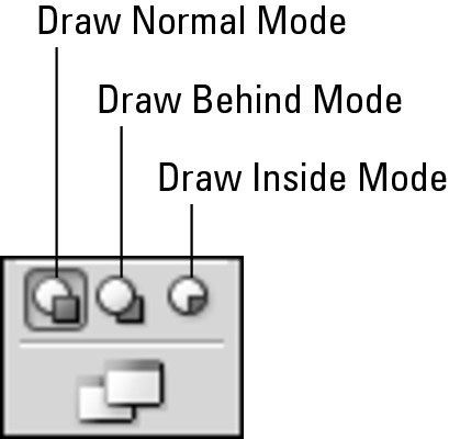 The new Drawing modes.