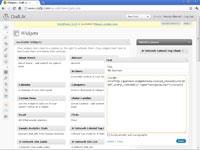 Adding an advertisement to a WordPress blog in a text widget.