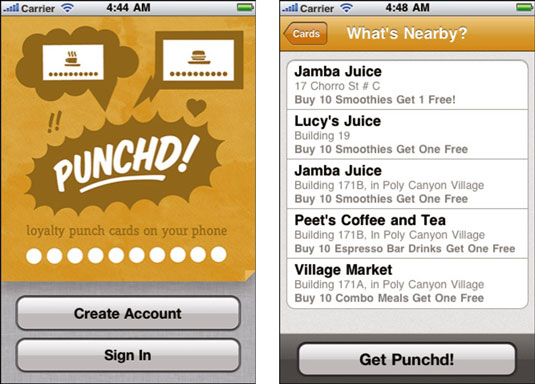 Punchd offers a simple way to make punch cards more useful.
