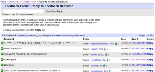 How To Respond To A Buyer S Feedback On Ebay Dummies